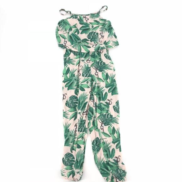 b3704d57ff4 H M Other - 🛍 H M Monkey   Palm Leaf Print Jumpsuit Romper